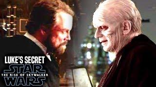 Luke's Terrifying Secret Of Palpatine Revealed! The Rise Of Skywalker (Star Wars Episode 9)