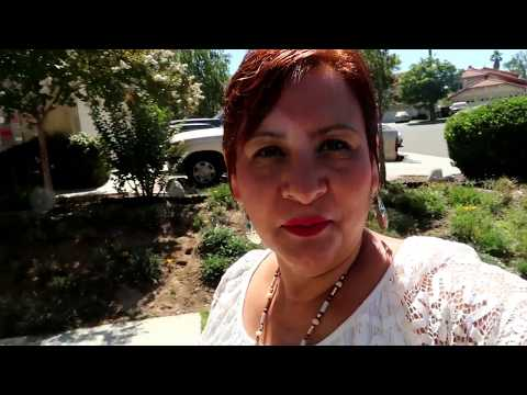 visitando  Moreno Valley y Canoga Park  california