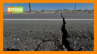 Earth cracks develop in several villages in Mukurweini, Nyeri County
