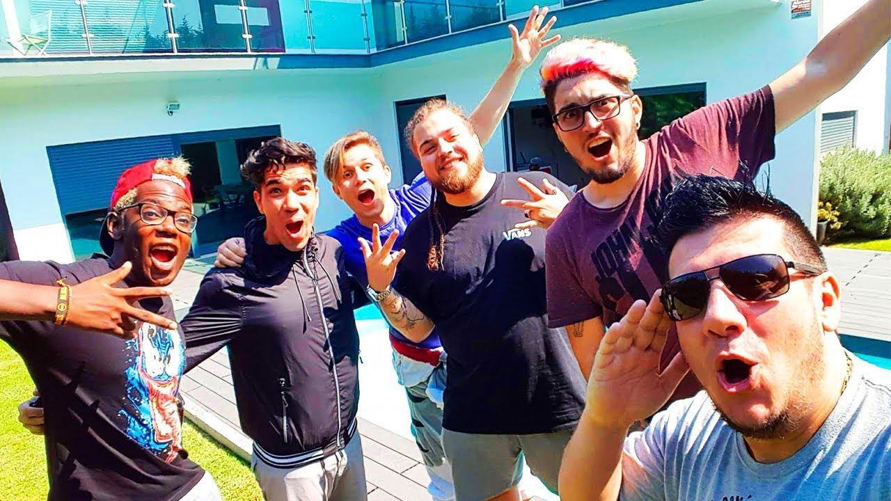 Voltei Para A Casa Dos Youtubers Youtube