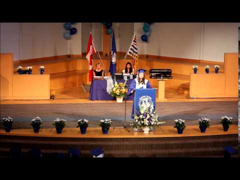 Matthew McNair Valedictory Ceremony 2014 - Prophet Speech