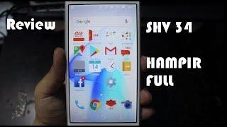 Hampir Full Review smartphone Sharp shv34