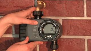 How To Program An Orbit 2-Outlet Hose Faucet Timer (24713)