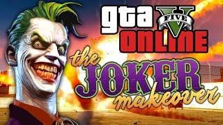 GTA 5 Online ★ THE JOKER MAKEOVER (Dumb & Dumber)