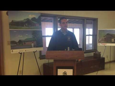 Camp Renovations Groundbreaking: Assemblyman Santa Barbara