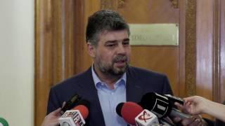 Declaraţii de presă susţinute de Marcel Ciolacu la Parlament - 18.04.2017