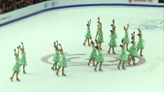 Team Russia 2 SP - ISU World Junior Synchronized Skating Championships ® 2017