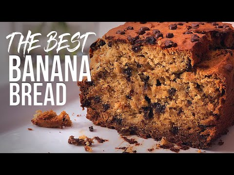 THE BEST Banana Bread | Chocolate Chip | Gluten Free & Dairy Free!