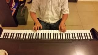 Обложка А я играю на гармошке крокодила Гена К сожаленью день рожденья только раз в году пианино кавер