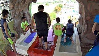Wave Runner Water Slide at Blue World Theme Park