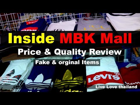 MBK center Bangkok - Replicate Prices & Quality review #livelovethailand