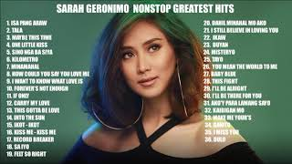 Sarah Geronimo NON STOP Greatest Hits  The Best of Sarah Geronimo Full Album Playlist 2020