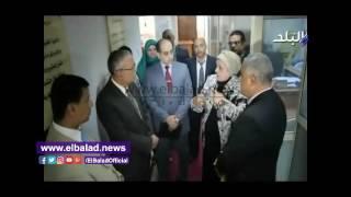 فايزة الطهناوى: قروض الصندوق الاجتماعي وفرت 17 ألف فرصة عمل بالمنيا.. فيديو وصور