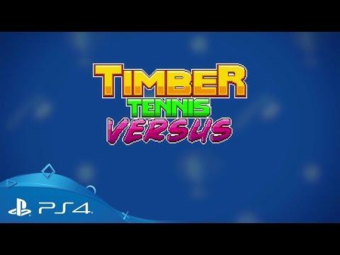 Timber Tennis: Versus | Launch Trailer | PS4