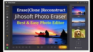Jihosoft Photo Eraser Software | Magic Erase | Reconstruct Old Photos | Clone Objects & Much More
