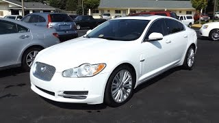 2011 Jaguar XF 5.0L V8 Start Up, Tour, and Review