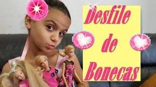 Teatro de Bonecas - em Desfile Bonecas Fashion Week