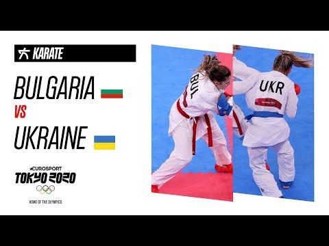 BULGARIA VS UKRAINE | KARATE | Women's kumite -55kg - Final Highlights | Olympic Games - Tokyo 2020
