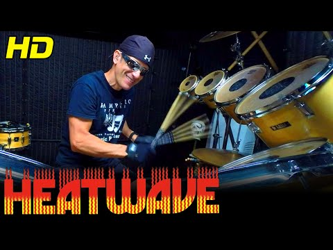 THE GROOVE LINE Drum Cover (Extended Intro Mix) Heatwave HD Super High Quality