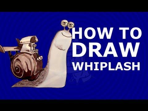 how to draw whiplash turbo 2013 dreamworks animation