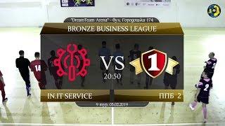 in.IT Service - Перша Приватна Броварня 2 [Огляд матчу] (Bronze Business League. 9 тур)