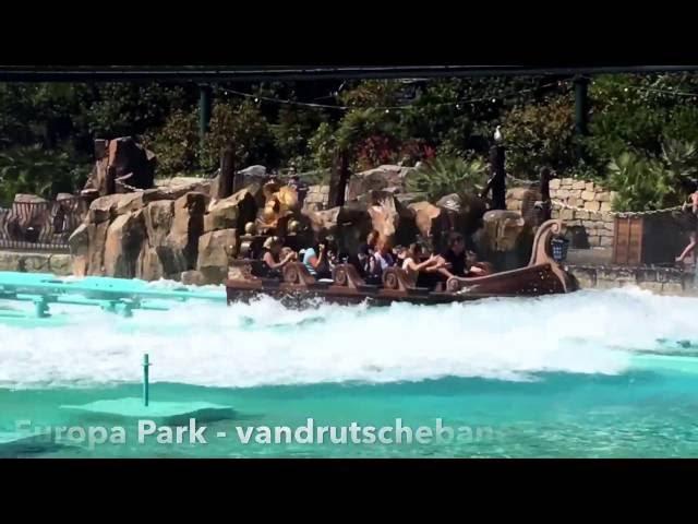 Europa Park, Tyskland - Vandrutschebane (husk tørt tøj).