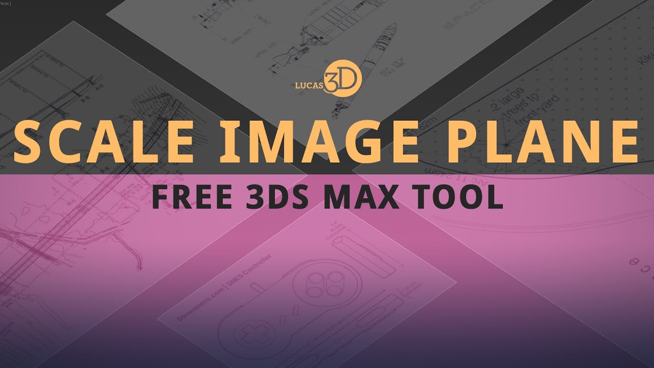 Scale Image Plane - Free 3ds Max Tool