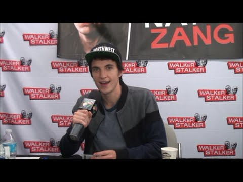 Z Nations Nat Zang Interview At Walker Stalker Con Youtube