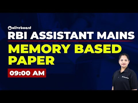 RBI Assistant Mains   English Memory Based Paper