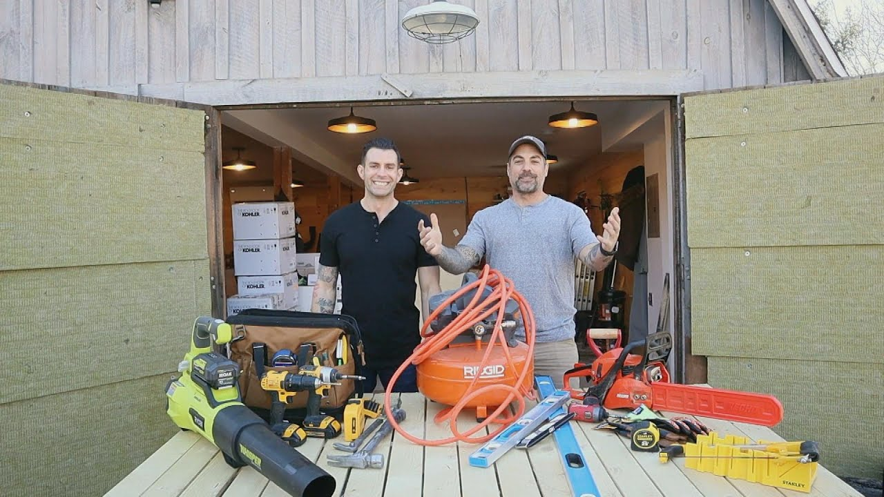 Home Renovation Power Tools + Safety Gear Every DIY-er Needs | The Cousins