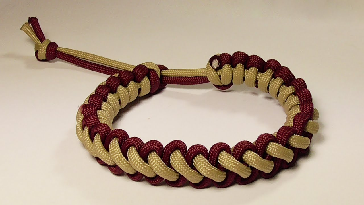 How You Can Make A Mad Max Style Bootlace Parachute Cord Bracelet