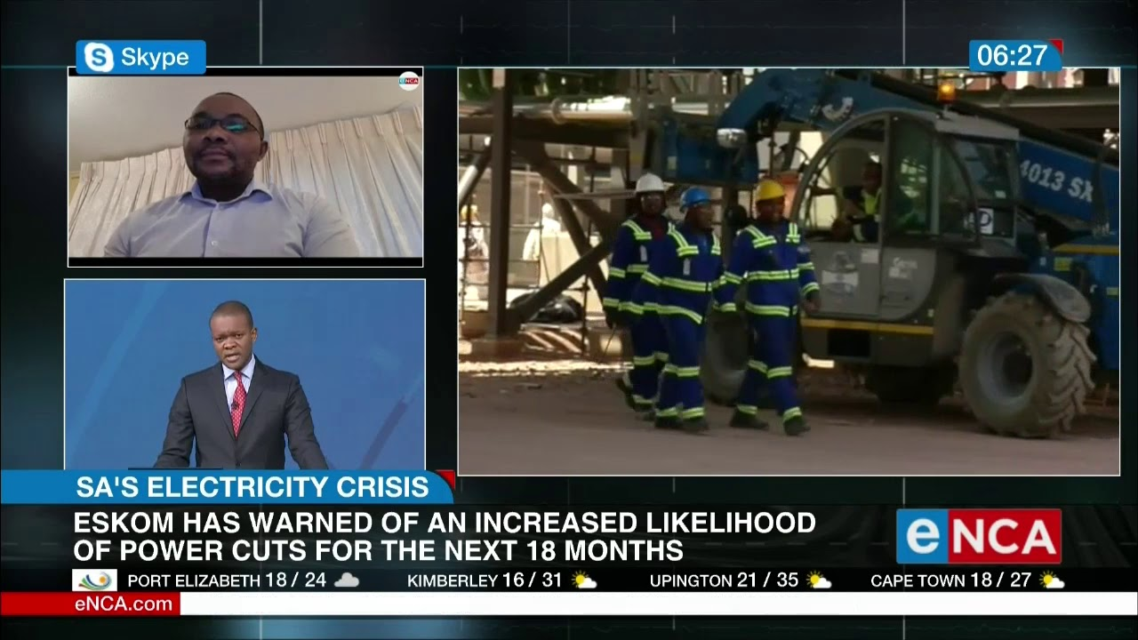 Will Eskom use the lockdown as an opportunity? - eNCA