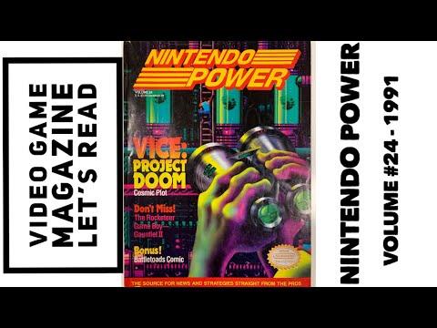 Nintendo Power Volume #24 - Video Game Magazine Let's Read