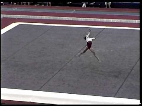 Kayla Hoffman (Rebound) - 2005 US Sr Nationals - Floor (Day 1)