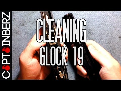 Cleaning The Glock 19 9mm (HD)