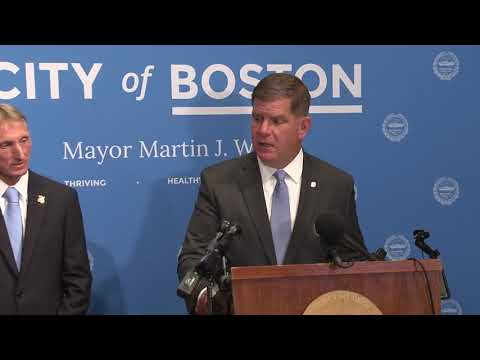 Mayor Walsh announces William Gross as police commissioner, departure of William Evans