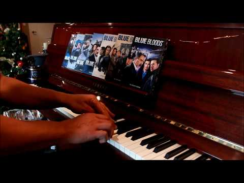 """""""Blue Bloods"""" Theme & Variation on Solo Piano by Kris Baines"""