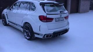 BMW X5 renegade edition in white