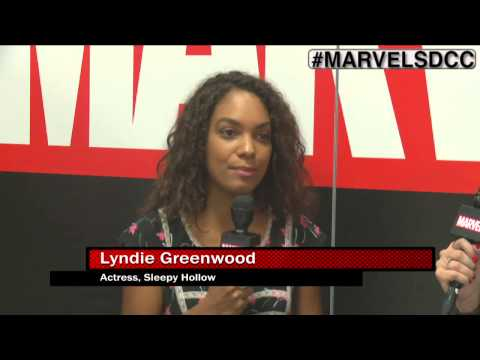 Sleepy Hollow star Lyndie Greenwood Joins Marvel LIVE! at San Diego ComicCon 2015