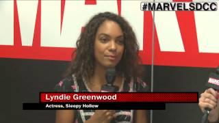 Sleepy Hollow star Lyndie Greenwood Joins Marvel LIVE! at San Diego Comic-Con 2015