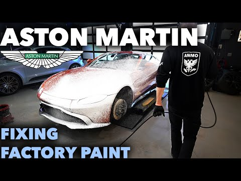 First Wash & Drive Aston Martin Vantage Paint Correction