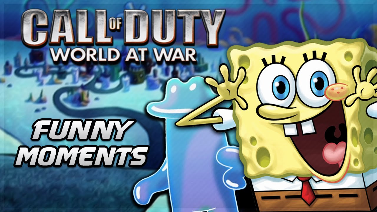 Call of Duty Spongebob Zombies! (CoD WaW Zombies Custom Map & Funny ...