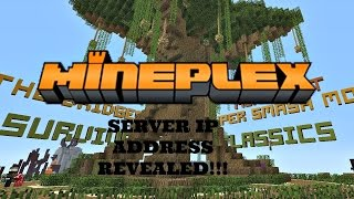 minecraft mineplex server ip address
