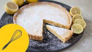 Hausgemachte Zitronentarte - Tarte au Citron | Leckereien für die Kaffeetafel