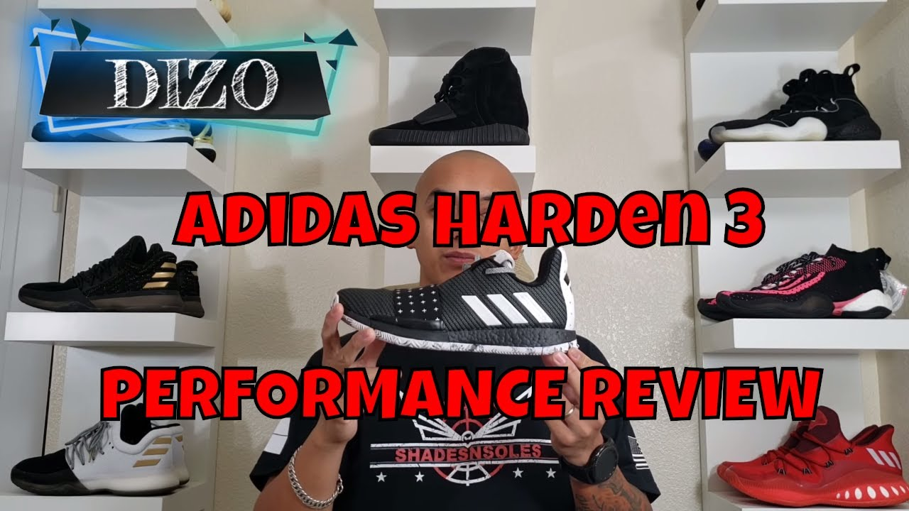 a536982bf Adidas Harden 3 Performance Review - YouTube