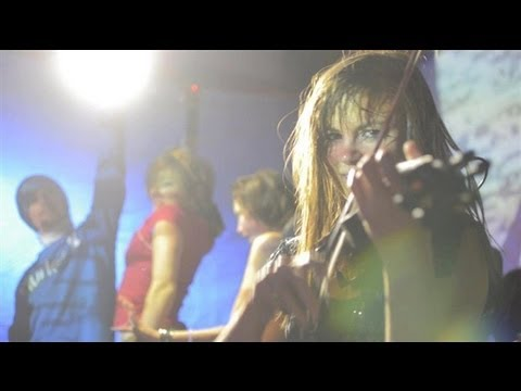 Kytami - MAD by Magnetic Man Violin Remix Live @ eatART NYE 2012