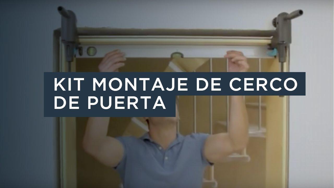 Kit montaje de cerco de puerta Pro - Wolfcraft - YouTube