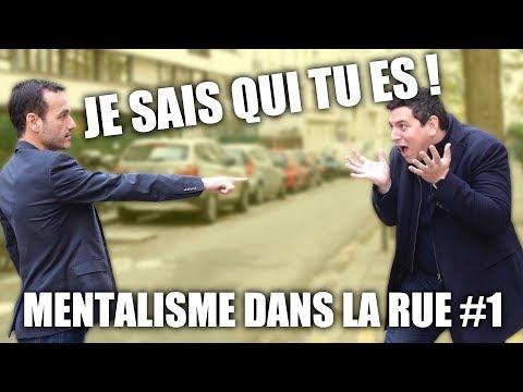 MENTALISME DANS LA RUE #1 PARIS