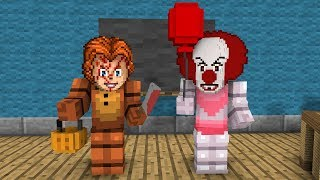 FNAF Monster School: Costume Contest! (It,Chucky,Etc) - Minecraft Animation
