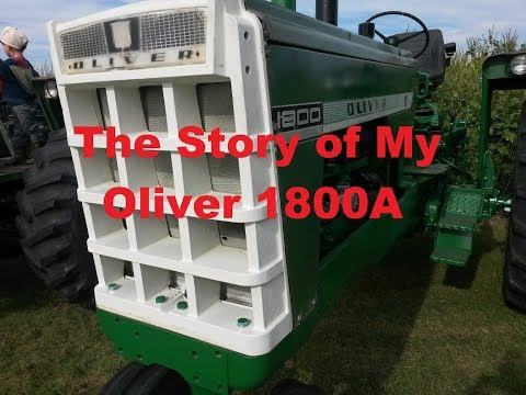 The Story Of My Oliver 1800A Partial Restoration Waukesha M&W Engine Rebuild